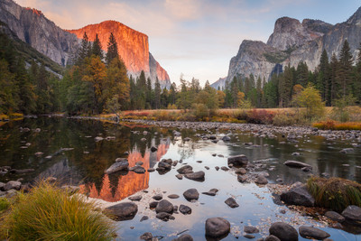 Sunset - Late Autumn in Yosemite
