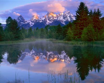 Dawn - The Teton's at Schlumbacher's Landing