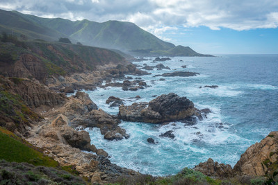 The Big Sur Coastline at Garrapata Beach