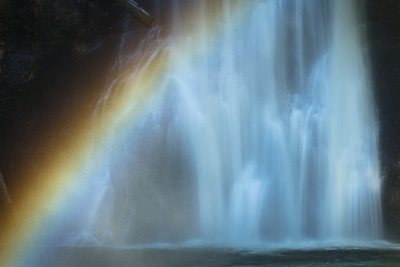 Late Rainbow, Silver Falls State Park