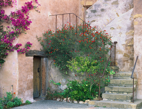 The Carmel Mission Corner