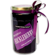 Huckleberry preserves (28 oz. jar with spoon)