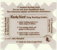 Straight Ruching Guide