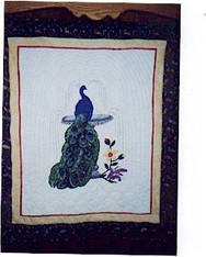 Peacock Paradise Wallhanging