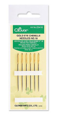 Gold Eye Chenille Needles No 22