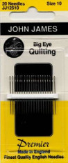 John James Big Eye Quilting Sz 10