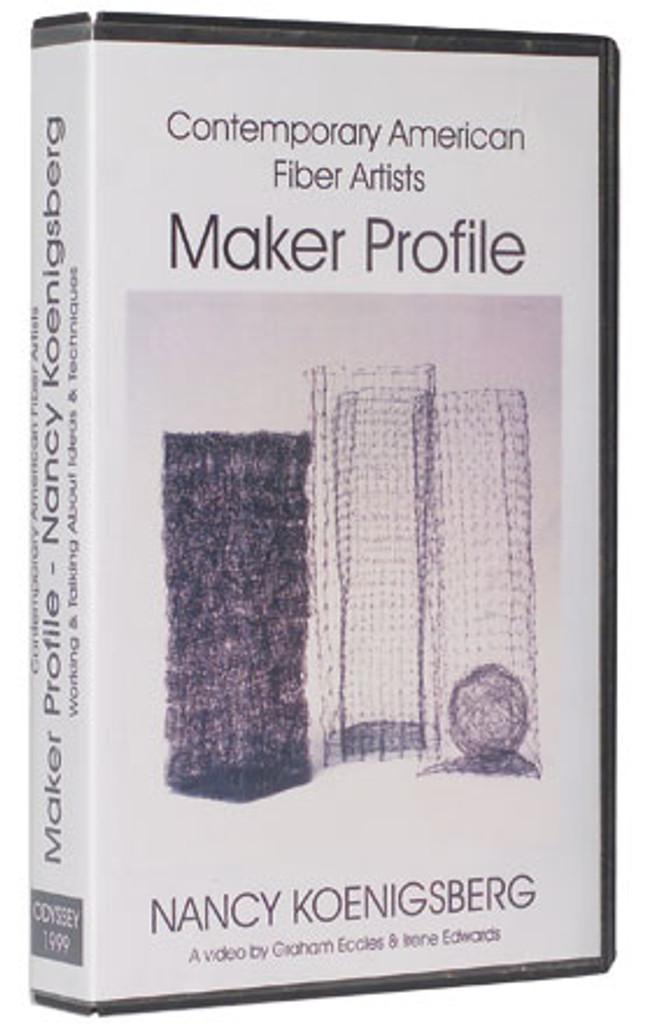 Contemporary Fiber Artist  Maker Profiles Nancy Koenigsberg