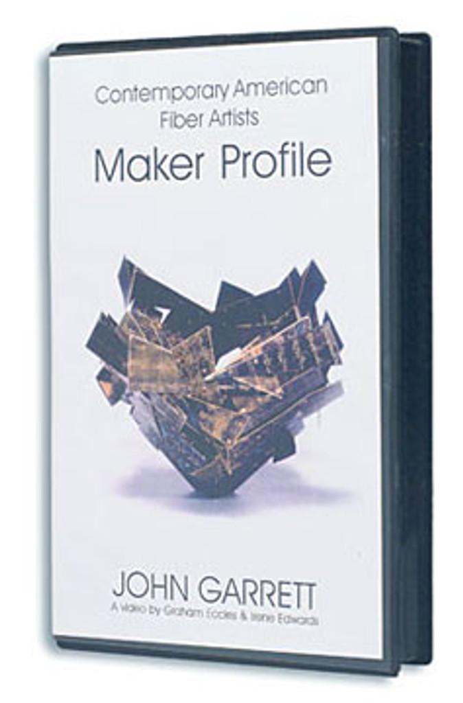 Contemporary Fiber Artist  Maker Profiles John Garrett
