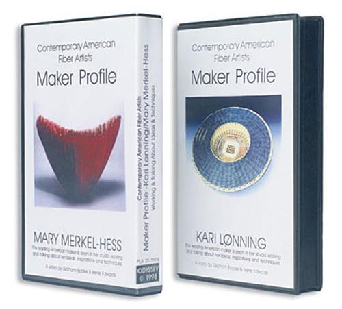 Contemporary Fiber Artists: Maker Profiles Mary Merkel-Hess and Kari Lønning