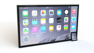 Padzilla 70 inch Frameless Giant iPad iPhone - G7