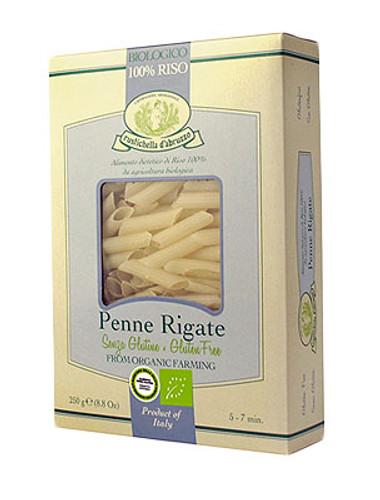 Organic Rice Penne Rigate-Gluten Free