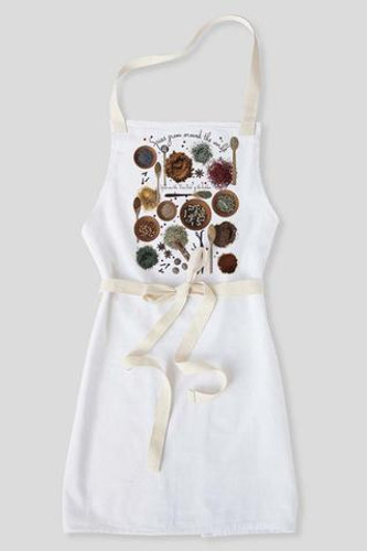 Spices from Around the World-Apron