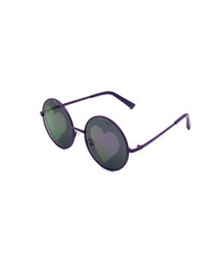 Vision of Love Reflective Heart Sunglasses (ZZ)