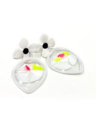 Galaxy Glow Air Pillow Earrings - The Extraterrestrial (002)
