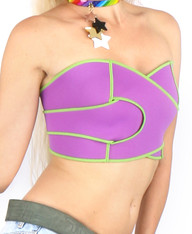Neon Infinity - Cropped Tube Top 05