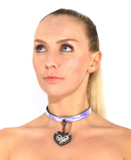Heart of the Night - Choker Necklace Pendant