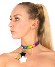 Shooting Stars - Choker Necklace Pendant