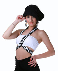 Love Bandage Tube Top (Withe)