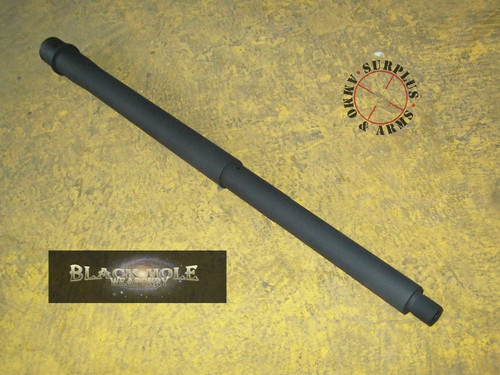 "Surplusammo.com Black Hole Weaponry AR-15  16"" Mid-Length Stainless Steel 5.56 1:8 Poly Barrel"