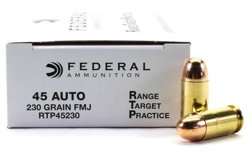 Surplus Ammo   Surplusammo.com 45 ACP 230 Grain FMJ Federal Range.Target.Practice Ammunition