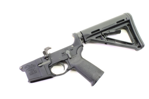 Surplusammo.com | Surplus Ammo Anderson AM-15 AR15 Complete Lower  Complete MOE Lower with Magpul MOE Collapsing Stock  AR-15 Complete Lower Receiver AND-AM15T-CS-MOE-6