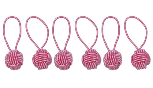 HiyaHiya Pink Yarn Ball Stitch Markers