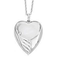 Forever My Baby 18 Inch Necklace Sterling Silver QSX569