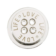 Nikki Lissoni Silver-Plated Love Life Coin That Fits S Rings MPN: RC2038S EAN: 8719075301760