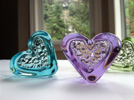 Fire and Light Flowing Heart 2 1/2 Inch