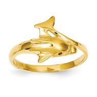 Dolphin Ring 14k Gold K3921