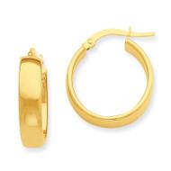 Hoop Earrings 14k Gold PRE681