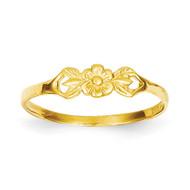Flower Baby Ring 14k Gold R532