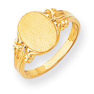 Signet Ring 14k Gold RS195