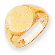 Men's Signet Ring 14k Gold RS286