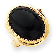 Onyx Ring 14k Gold Y4500OX