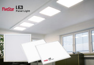 Five Star Light UL Listed 43W(200W Equivalent),6000K 3800 Lumen LED Panel Light Edge-Lit Super Bright Ultra Thin Glare-Free