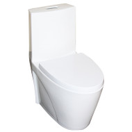 European Toilet One Piece dual flush