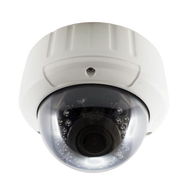 LEDs Vandal-proof 2.8-12mm Vari-focal Aluminum Dome Camera