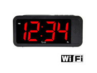 WiFi Alarm Clock Hidden Camera
