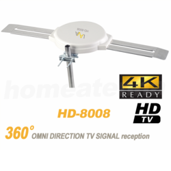 4K Omnidirectional TV Antenna OmniPro HD-8008