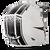 2016 Fly Racing F2 Carbon Dubstep Helmet Matte White/Black