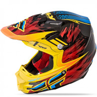Fly Racing F2 Carbon Andrew Short Replica Helmet