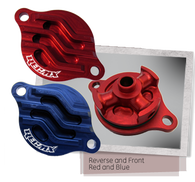 REC MX HONDA BILLET OIL FILTER COVER 2002-2008 CRF450R / 2005-2015 CRF450X / 2006-2014 TRX450R