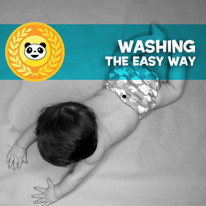 Washing your Diapers the EASY WAY!