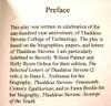 Thaddeus Stevens:  The Play