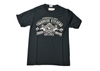 Black Retro T-Shirt - Round neck