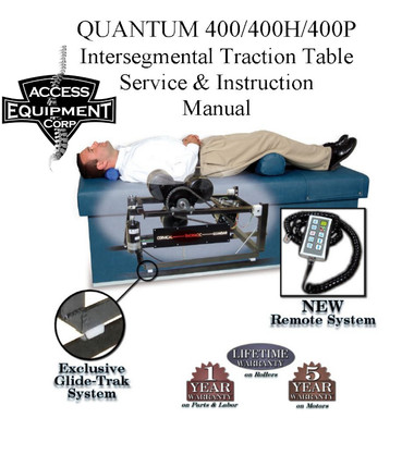 Quantum 400 Ist Table Owners Amp Parts Manual