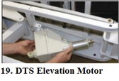Chattanooga Triton DTS  600  Elevation Motor