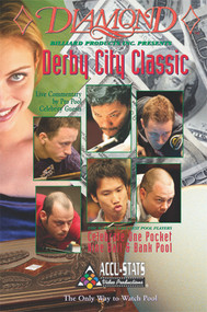 Justin Bergman vs. Alex Pagulayan* (DVD) | Derby City 9-Ball