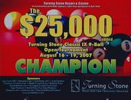 2007 Turning Stone Classic Star Set (DVD) | Turning Stone 9-Ball Classic IX